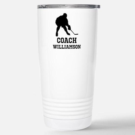 Personalized Hockey Coach Travel Mug