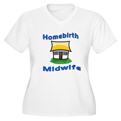 Homebirth midwife Women's Plus Size V-Neck T-Shirt