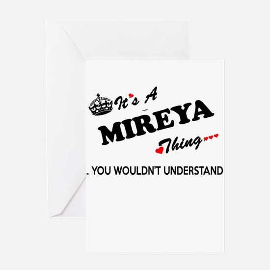 MIREYA thing, you wouldn't understa Greeting Cards