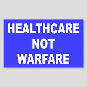 HEALTHCARE Rectangle Sticker