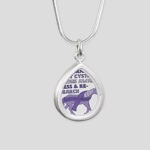Unicorns Support Cystic Fibrosis Awarene Necklaces
