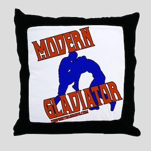 Modern Gladiator Throw Pillow