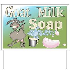 Goat Milk Soap Yard Sign