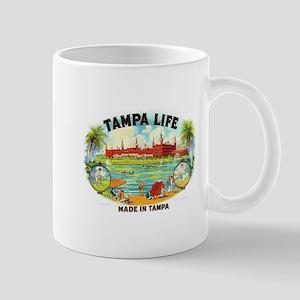 Tampa Life Vintage Cigar Ad Mug
