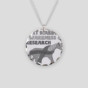 Unicorns Support Diabetes Aw Necklace Circle Charm