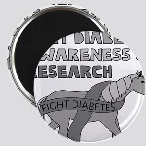 Unicorns Support Diabetes Awareness Magnets
