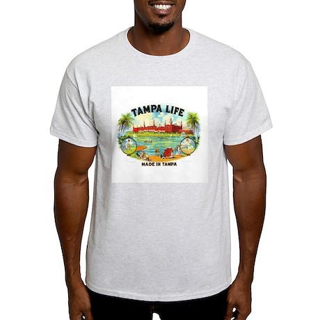 Tampa Life Vintage Cigar Ad Light T-Shirt
