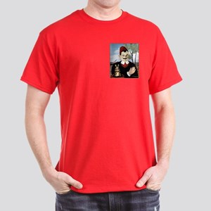 MAN & CAT Dark T-Shirt