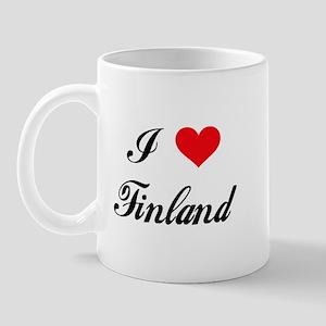 I Love Finland Mug