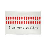Wealthy Link Rectangle Magnet (10 pack)