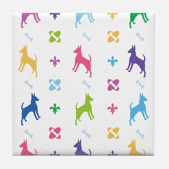 Chihuahua Designer Tile Coaster