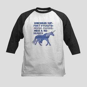 Unicorns Support Dysautonomia Awar Baseball Jersey