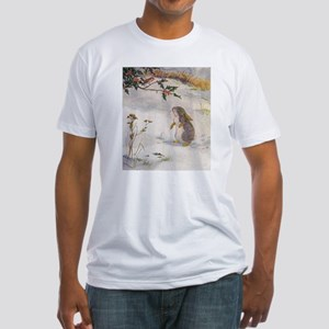1927 Christmas Bunny Fitted T-Shirt