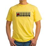 Health Meter Yellow T-Shirt