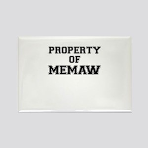 Property of MEMAW Magnets