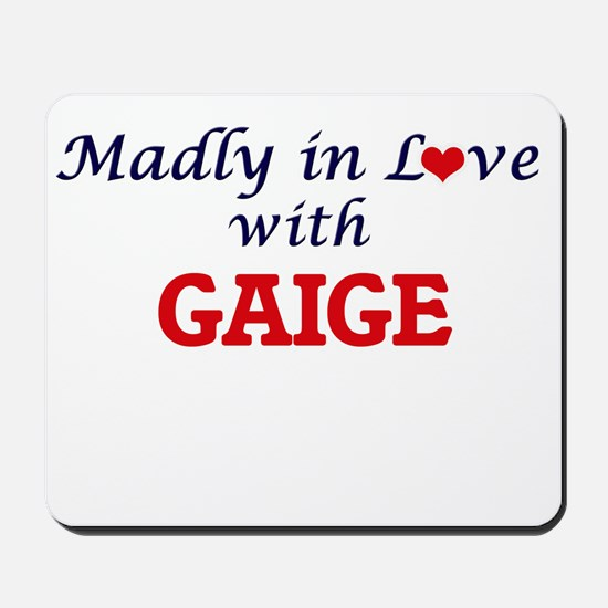 Madly in love with Gaige Mousepad