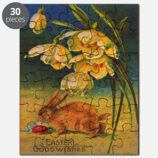 Cute Easter bunny Puzzle