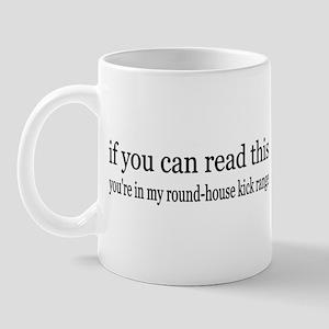 Round House Kick Range Mug