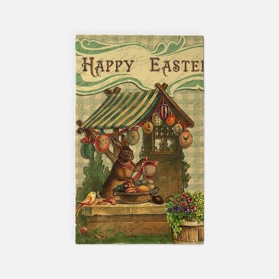 Cute Easter bunny Area Rug