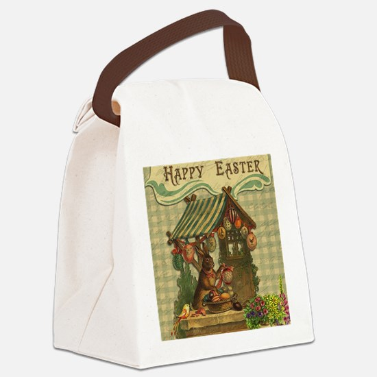 Unique Easter Canvas Lunch Bag