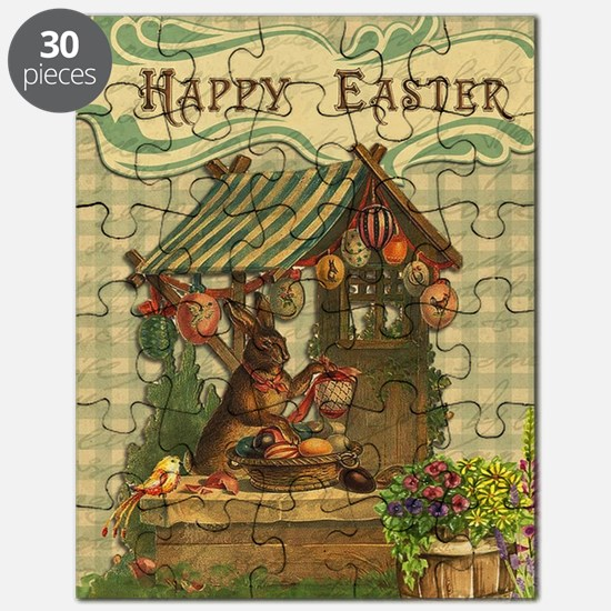 Funny Easter bunny Puzzle