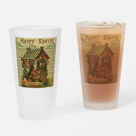 Unique Easter bunny Drinking Glass
