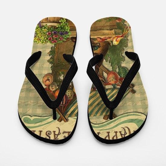 Cute Easter Flip Flops