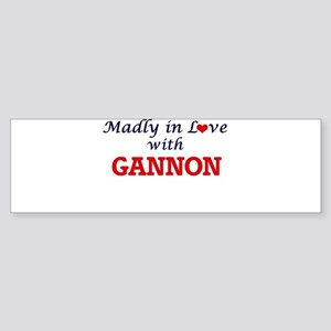 Madly in love with Gannon Bumper Sticker
