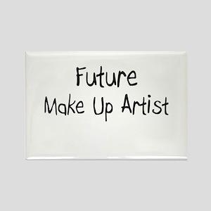 Future Make Up Artist Rectangle Magnet