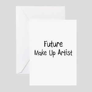 Future Make Up Artist Greeting Cards (Pk of 10)