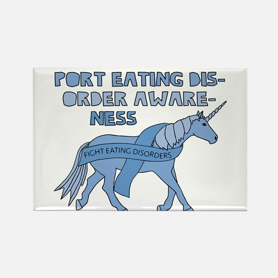 Unicorns Support Eating Disorder Awareness Magnets