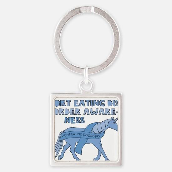 Unicorns Support Eating Disorder Awarene Keychains