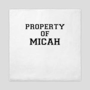 Property of MICAH Queen Duvet
