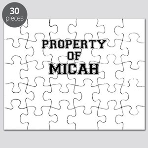 Property of MICAH Puzzle