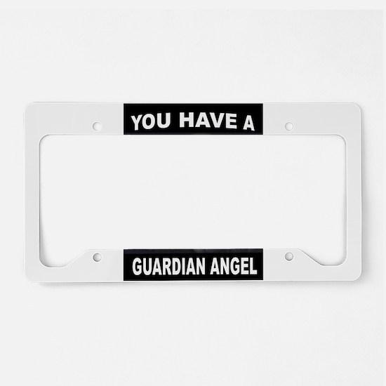 GUARDIAN ANGEL License Plate Holder