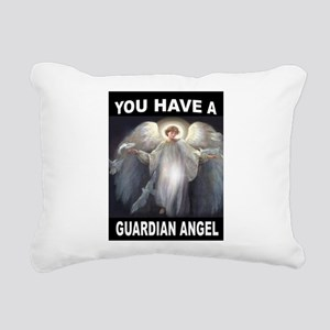 GUARDIAN ANGEL Rectangular Canvas Pillow