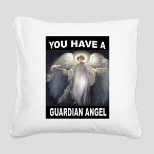GUARDIAN ANGEL Square Canvas Pillow