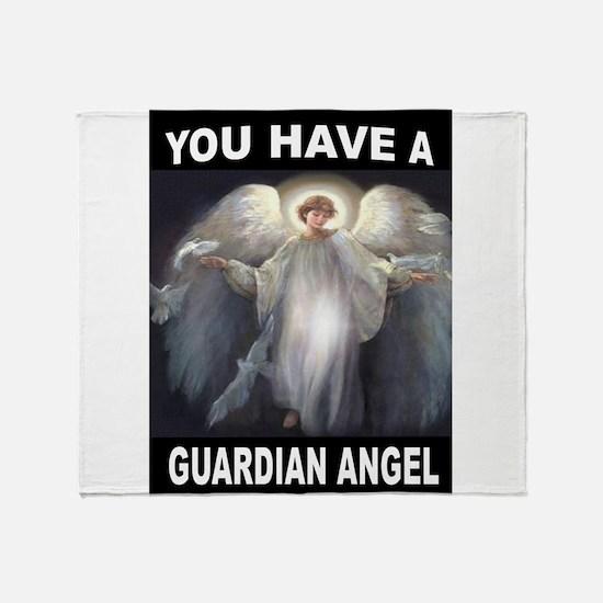 GUARDIAN ANGEL Throw Blanket