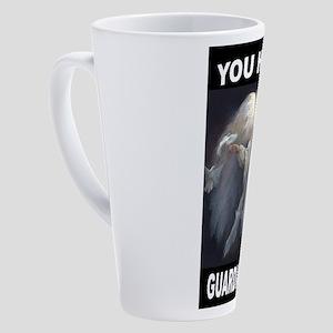 GUARDIAN ANGEL 17 oz Latte Mug