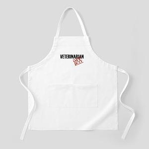 Off Duty Veterinarian BBQ Apron