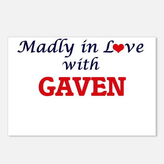 Madly in love with Gaven Postcards (Package of 8)