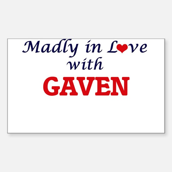 Madly in love with Gaven Decal
