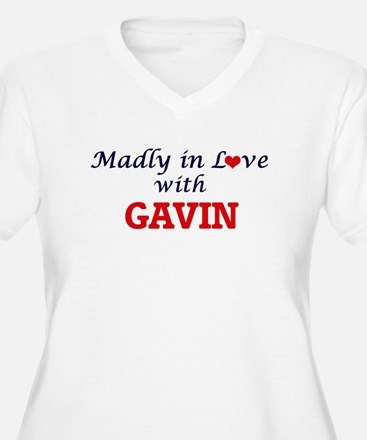 Madly in love with Gavin Plus Size T-Shirt