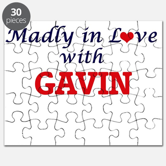 Madly in love with Gavin Puzzle