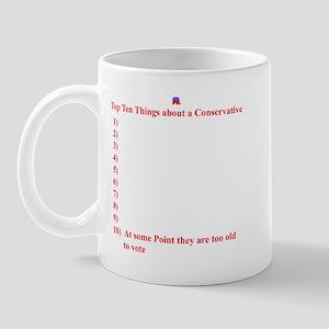 Top 10 Conservatives Mug