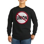 Anti-Union Long Sleeve Dark T-Shirt