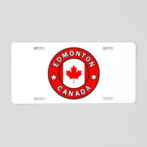 Edmonton Canada Aluminum License Plate