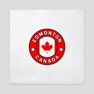 Edmonton Canada Queen Duvet