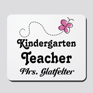 Personalized Kindergarten Teacher Mousepad