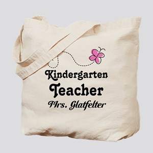 Personalized Kindergarten Teacher Tote Bag